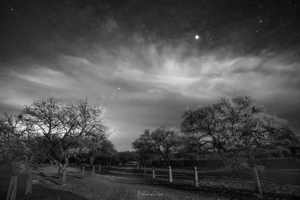 Photo credit Beth Ruggiero-York - Night Skies over Southern Arizona