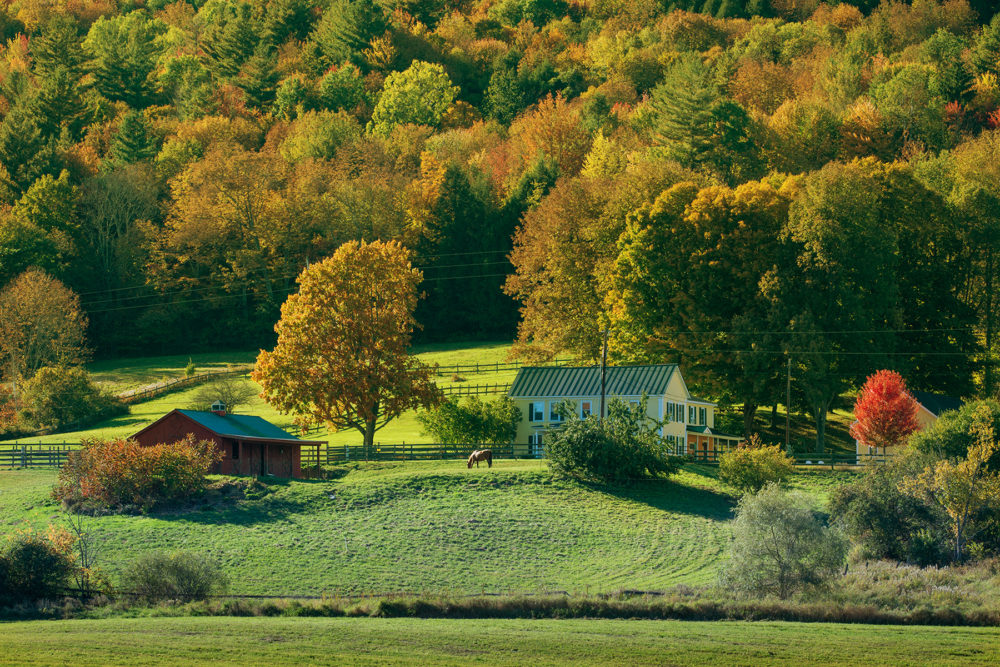 Photo credit John Santoro - Fall in Vermont