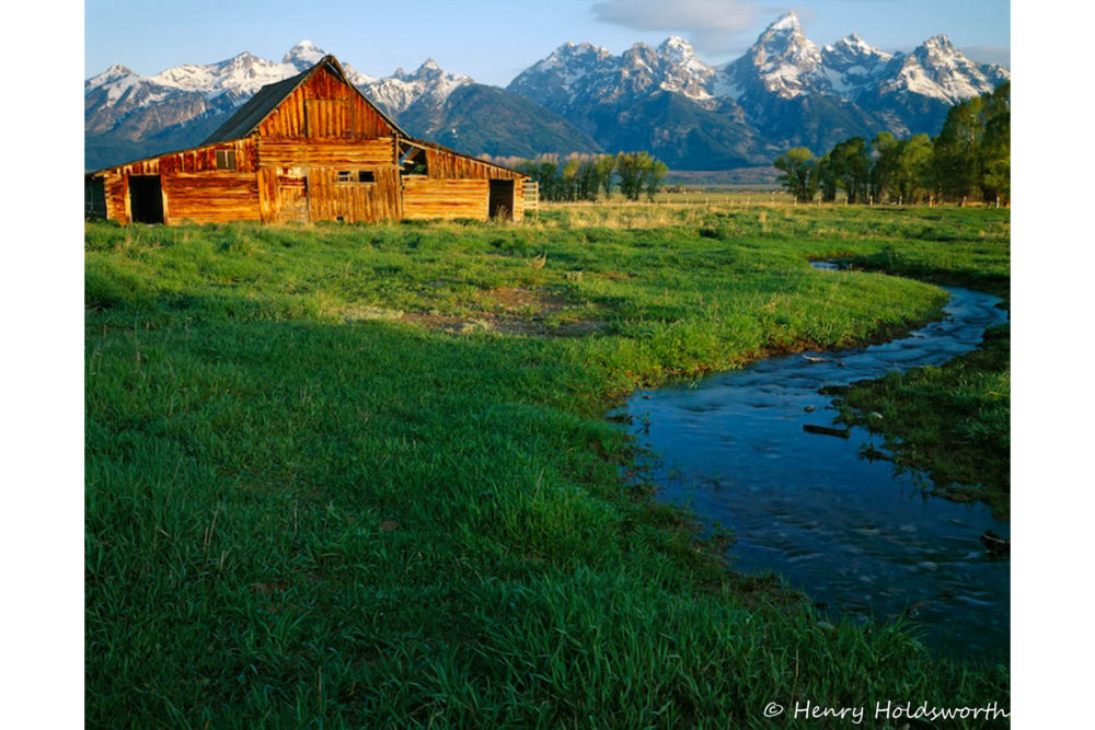 Photo credit Henry Holdsworth - Spring in the Tetons