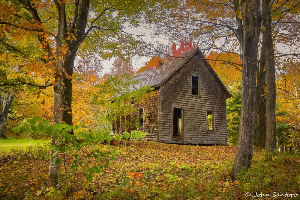 photo credit John Santoro - Fall in Vermont Photo Workshop