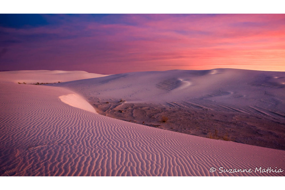 Photo credit Suzanne Mathia - White Sands Photography Workshop